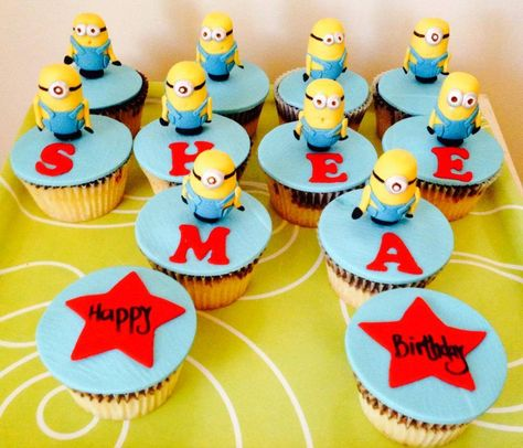 Minion Cupcakes by I'm Sweet Cakes, Beaumont Hills, New South Wales, Australia. You'll find this Cake Appreciation Society Member in our Directory at www.cakeappreciationsociety.com