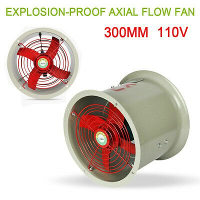Details About Cbf 300 110v 180w 1450rpm Explosion Proof Axial Flow Fan Pipeline Exhaust Fan Us In 2020 Axial Flow Fan Exhaust Fan Ventilation Fan
