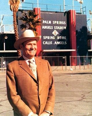 Gene Autry Was The Original Owner Of The Angels 1960 1998 Anaheim Angels Baseball Los Angeles Angels Baseball Anaheim Angels