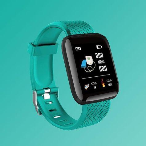 Digital Smart sport watch men's watches digital led electronic wristwatch Bluetooth fitness wristwatch women kids hours hodinky - green / Russian Federation
