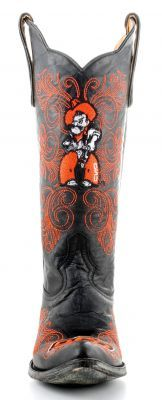 Ladies Oklahoma State University boots by Gameday Boots.