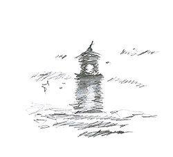 Lighthouse, pencil 2013