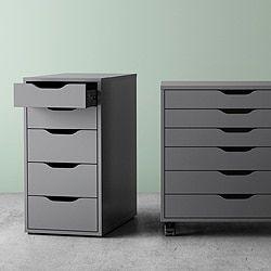Mobili Per Ufficio Ikea Con Librerie Cassettiere E