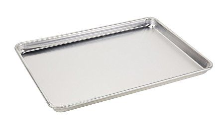 Foodservice Essentials Hbp12 1 Heavy Duty Full Size Baking Sheet Pan 12 Gauge Aluminum Review Sheet Pan Food Service Pan