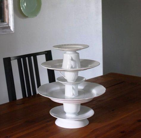 Многоярусная подставка для торта своими руками фото 744