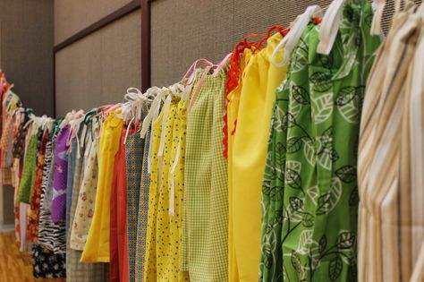 Little Inspirations: Thanks & Giving Relief Society Activity - Little Dresses for Africa Service Project