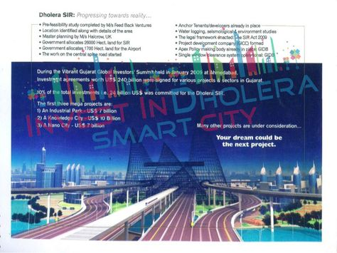Benefits Of Dholera Sir  Initial Luxurious Good Town Of India