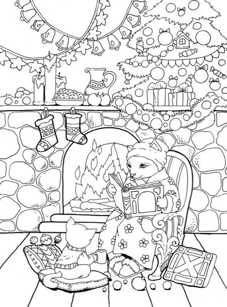 22 Christmas Coloring Books To Set The Holiday Mood Coloring Books Christmas Coloring Books Coloring Book Pages