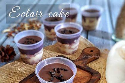 Resep Eclair Cake Dessert Spesial Oleh Yudistira Nirmala Eclair Cake Desserts Cake Desserts