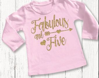 27afa4d8d Her Royal Fiveness shirt // 5 year old girls by SkeleteePrinting