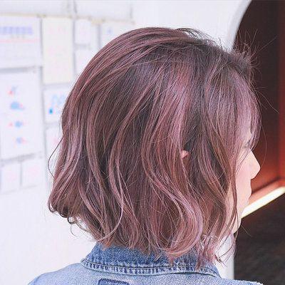 ショートカット ボブの魅力upはグラデーションカラーで 髪色の魔法で