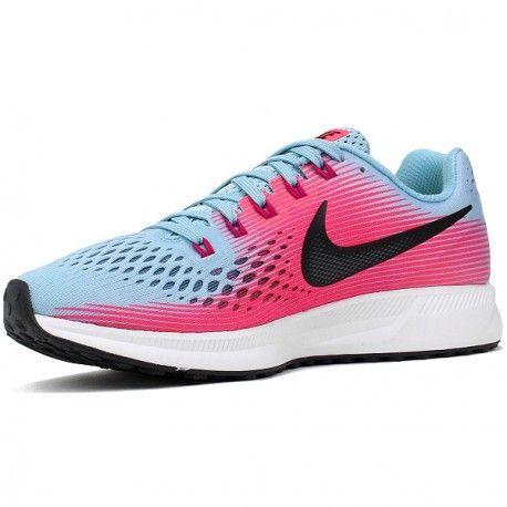 on sale f3391 1b549 Nike Air Zoom Pegasus 34 Wmn. (gris-fushia)