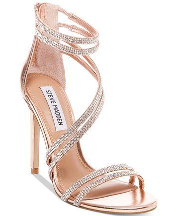 3770933ffda Steve Madden Women's Sweetest Dress Sandals   macys.com   My Wedding ...