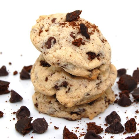 Chocolate Chip Girl Scout Thin Mint Cookies