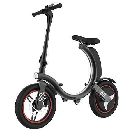 Details About Gospider Fully Foldable Electric Bike Scooter 350w
