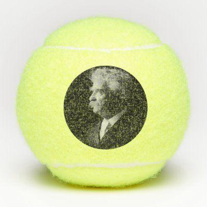 Samuel Clemens Author American Literature Tennis Balls Zazzle Com In 2020 American Literature Tennis Balls Literature