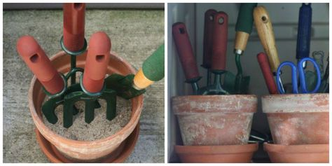 Organize Your Gardening Supplies - The Organized Mom