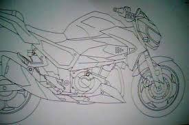 Resultado De Imagem Para Desenho De Moto Xj6 Moto Xj6 Desenho
