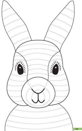 Easter Bunny In 2020 Ostern Zeichnen Ostern Grundschule