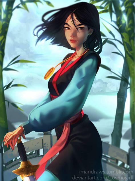 Mulan by cosmogirll on DeviantArt