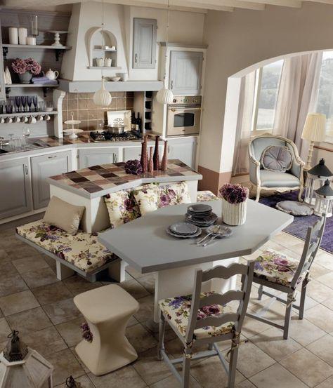 Cucine shabby chic: accessori e mobili con foto per scoprire questo ...