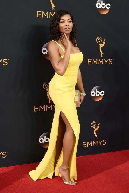 Taraji P. Henson at the Emmys, 2016