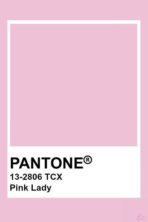 Pantone Pink Lady