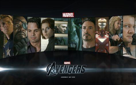 Marvel's The Avengers Desktop Wallpaper by Marvel-Freshman on DeviantArt