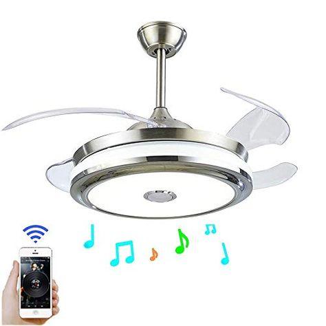 Fandian 42 Modern Ceiling Fans with Light Smart Bluetooth