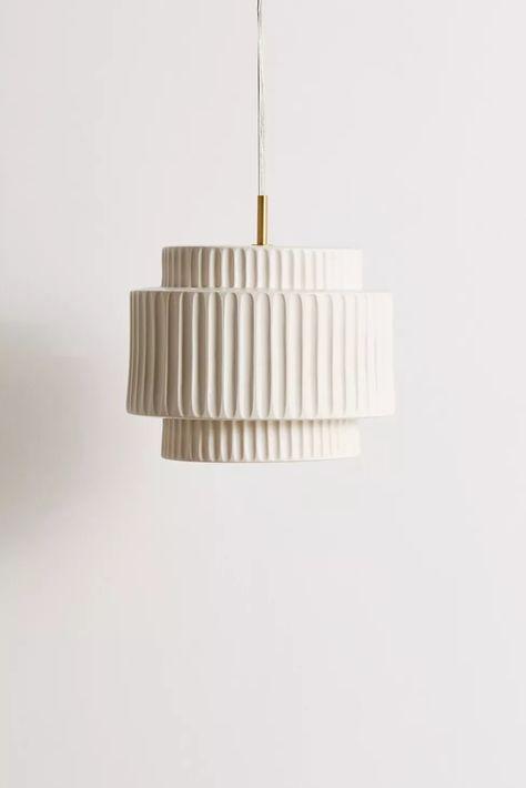porcelain detailed chandelier light