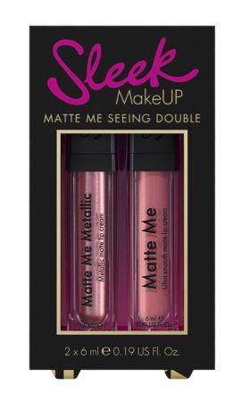 Sleek Makeup Matte Me Seeing Double Nieuws