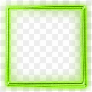 Mq Green Neon Frame Frames Border Borders Green Neon Square Png Transparent Png Neon Poster Background Design Neon Png