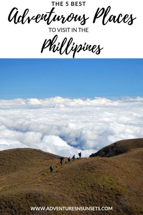 The 5 Best Adventurous Places to Visit in the Philippines
