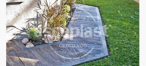 Molde Madera Petrificada Para Pisos Y Revestimientos - $ 5.082,00 en Mercado…