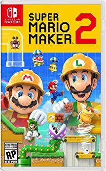 Super Mario Maker 2 Nintendo Switch Juegos De Wii U Juegos De Wii Juegos De Consolas