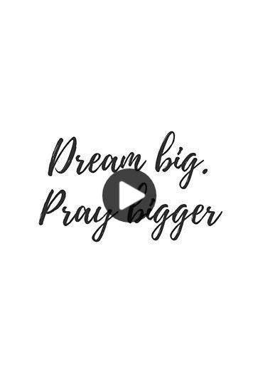 Dream Big Pray Bigger Poster By Bhp Store In 2020 Short Funny Quotes Short Quotes Dream Big