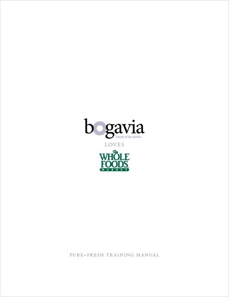 Bogavia Training Manual Page Concept Jamie Archive Pinterest - training manual
