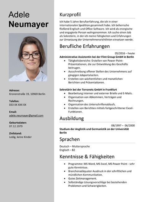 German Cv Templates Free Download Word Docx In 2020 Cv Template Free Cv Templates Free Download Free Cv Template Word