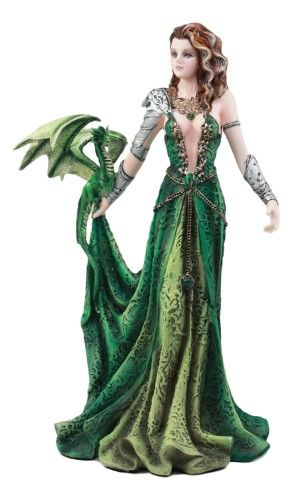 Asiria Dragon Witch Warrior Collectible Figurine 12 inch H Official Nene Thomas