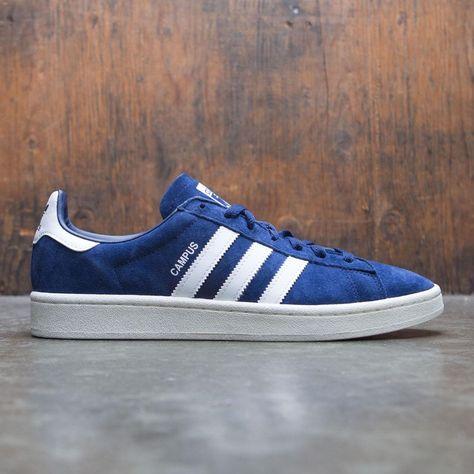 b81c34227d7 Adidas Men Campus (blue / dark blue / footwear white / chalk white ...