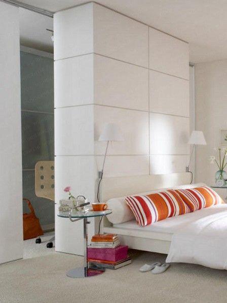 Popular Begehbarer Schrank mit Arbeitsplatz kleine Heimb ros Bett und Kleiderschr nke