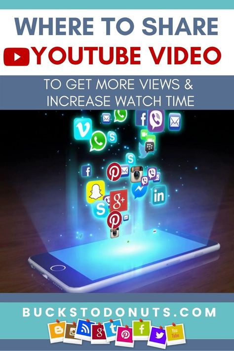 Where To Share YouTube Video To Get More Views & Increase YouTube Channel Watch Time