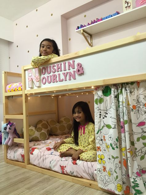 Ikea Kura Bed In Girls Bedroom More Kinderopberger Cameretta