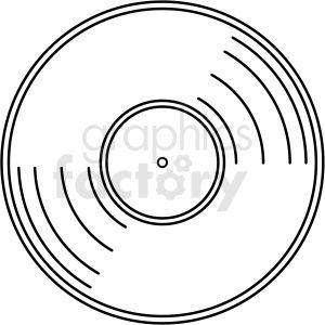 Vinyl Record Vector Clipart No Background Clip Art Vector Clipart Vinyl Records