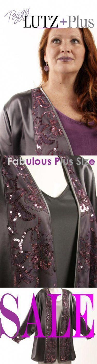 7fb750b6763b Plus Size Mother of the Bride Special Occasions Jacket Grey Satin with Rose  Sequins Lace xoPeg