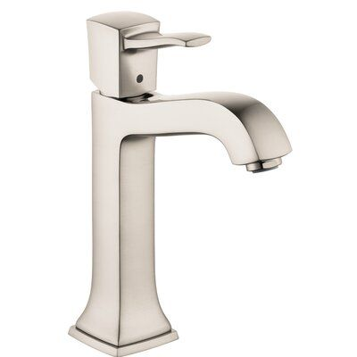 Hansgrohe Metropol Classic Single Hole Bathroom Faucet With Drain