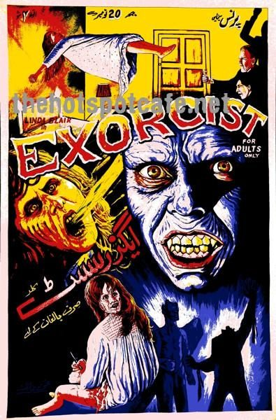 Exorcist The 1973 The Pop Art Poster Horror Artwork Pop