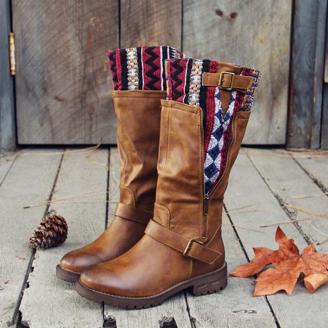 Indian Creek Boots, Rugged *=& Cozy Winter Boots from Spool No.72.   Spool No.72