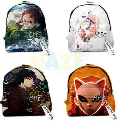 demon slayer kimetsu no yaiba cosplay backpack school bag school bags school backpacks slayer