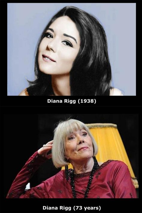 Diana Rigg, beautiful at any age.